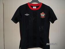 Southampton Camisa 125 aniversario lejos 1885-2010 firmado Davis Dickson Martin