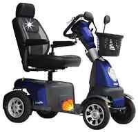 Elektromobil Anholt Vollfederung Sitzfederung 15 km/h