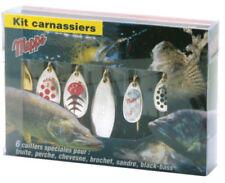 Mepps Set Kit Poisson Carnassier 6 pcs détraqué Assortiment Art Appât Poisson carnassier leurre