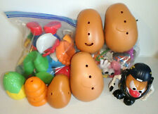 New listing Mr. Potato Head Lot 75 Pieces - SPIDERMAN MOUNTAINEER CHICKEN & more / VG!