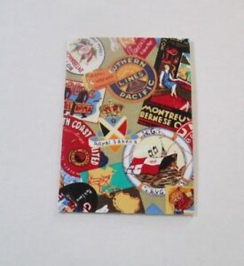 Vintage Travel Stickers Passport Cover Fabric & Vinyl travel accessory gift