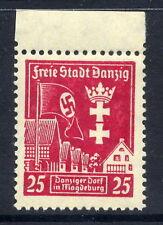 DANZIG 1937 Danzig Productivity Show 25 Pf. upright watermark  MNH / **