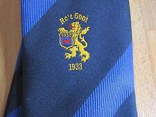 Rc't GOOI 1933 Dutch Holland RUGBY Union Club Tie by Maddocks & Dick