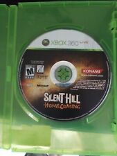 Silent Hill: Homecoming (Microsoft Xbox 360, 2008)  disk and manul only!