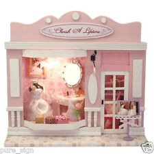 DIY Handcraft Miniature Project Kit Dolls House European The Wedding Dress Shop