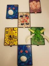Pokemon 2000 Movie Power Cards Elekid/Scyther/Mr Mime Burger King Toys 6 Pc