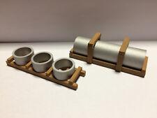 Ladegut Betonringe & Rohr für Schwerlastwaggon Spur N (1:160) Handarbeitsmodelle
