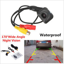 170° HD 600TVL Night Vision Auto Car Rear View Reverse Backup Camera Waterproof