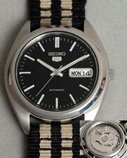 SEIKO 5 Automatik Edelstahl Armbanduhr. 7S26-0440 Seiko 5 automatic watch. 7S26B