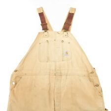 CARHARTT Chore Overalls | Dungarees Bib Workwear Vintage Canvas Work Wear Usa