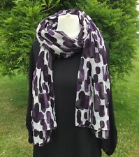 Gap Purple Patterned Scarf Excellent Condition