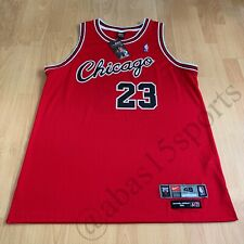 1984-85 MICHAEL JORDAN CHICAGO BULLS NIKE ROOKIE RETRO JERSEY SIGNED UDA AUTO RC