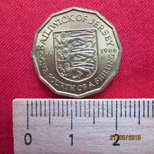 Großbritannien - Great Britain - Bailiwick of Jersey 1/4 Shilling 1966 - III