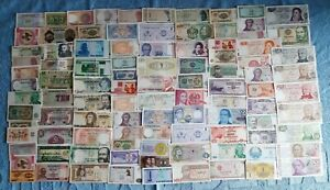 100 Banconote dal Mondo FDS / UNC   Lotto-01