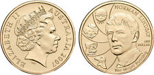 2007 Norman Lindsay Australian $1 Uncirculated Coin ex Mint Set SCARCE