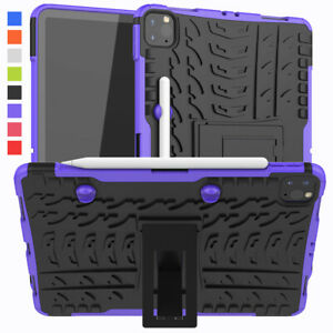 """For Apple iPad Pro 11"""" 2020 2nd Generation Heavy Duty Rubber defender Stand Case"""
