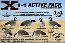 Big Al's Decoys - Canada Goose X14 - Silhouettes - Brand New