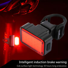 Mountain Bike Bicycle Rear Lights LED Cycle Cycling Light Set Rechargeable USB