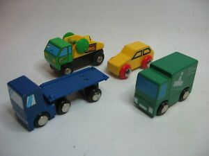 Wooden CARS TRUCK  LORRY ~ For Wooden Road Rail Track ~ SP10