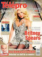 french magazine Télépro N°2911 britney spears johnny hallyday avatar pink floyd