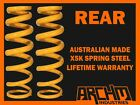 HOLDEN COMMODORE VX SEDAN SPORTS REAR 30mm LOWERED COIL SPRINGS