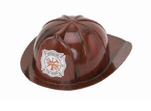 Deluxe Child Fireman's Sturdy Plastic Hat Helmet Costume Accessory Firefighter