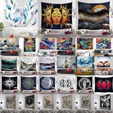 3D Tarot Print Hippie Tapestry Throw Blanket Mat Wall Hanging Bedspread Room Dec