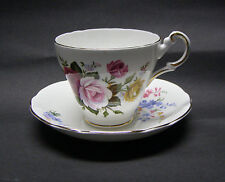 Regency English Bone China Cups and Saucers England