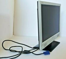 "Hanns G JC151A 15"" LCD Widescreen Monitor VGA Tested Working"