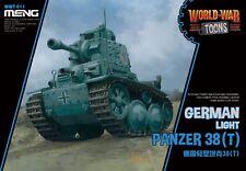 Meng Model WWT-011 German Light Panzer 38(T) (Q Edition)