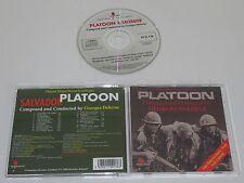 GEORGES DELERUE/PLATOON & SALVADOR SOUNDTRACKS(PROMETHEUS PCD 136) CD ALBUM