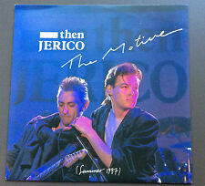"THEN JERICO - The Motive 7"" Vinyl Single Record 45 VG+ 1987 Australian Pressing"