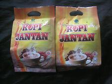 2 Packs of Kopi Jantan Coffee with Tongkat Ali,Smilax Myosotiflora & Ganoderma