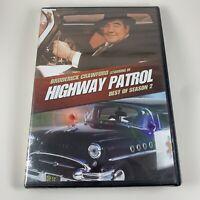 Highway Patrol Best of Season 2 DVD Set 1956-57 TV Series Broderick Crawford NEW