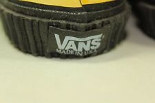 NOS VANS MADE IN USA New old Stock Sk8 Shoes Sz 8 124792 Red canvas shoes