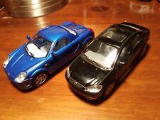 Kinsmart 1:32 Scale Toyota MR2 Blue / Toyota Corolla Black (FC1/A)