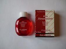 FLACON MINIATURE PARFUMS EAU DYNAMISANTE DE CLARINS + BOITE