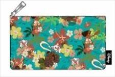 Moana Floral Pencil Case 100 Polyester Canvas Printed Details 20cm W X 12cm H