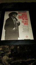 Andreas Vollenweider Dancing With The Lion Rare Radio Promo Poster Ad Framed!