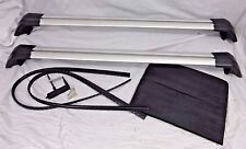 Land Rover OEM Discovery Sport L550 Cross Bar Roof Rack Silver Brand New