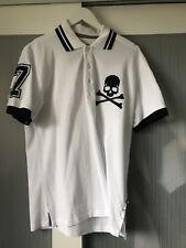"""Phillip Plein  Men """"Classy Gang""""Polo T Shirt top Size L 100% authentic"""