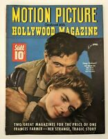 Motion Picture Hollywood Magazine Gary Cooper Ingrid Bergman April 1943