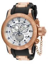 Invicta 15566 Men's Russian Diver Silver Dial Stainless Steel & PU Strap
