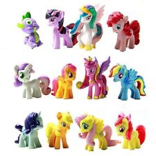 Set di 12 PZ My Little Pony cake topper PVC Action Figure personaggi little pony