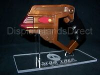 acrylic display stand for Playmates Star Trek Bajoran Phaser TNG DS9