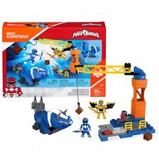 Mega Construx POWER RANGERS Blue Ranger Battle Building Set DPK77 Bloks Official