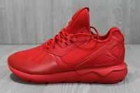 54 New Adidas Tubular Runner Scarlet Red Q16464 Boost Ultra running Shoes 9 - 12