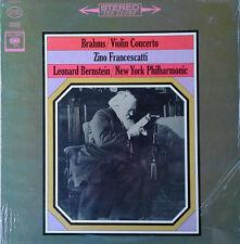 BRAHMS - VIOLIN CONCERTO - FRANCESCATTI / BERNSTEIN - COLUMBIA LP - 360 SND