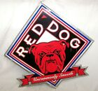 """Vintage Distressed Red Dog BEER Metal Sign UNCOMMONLY SMOOTH 23"""""""