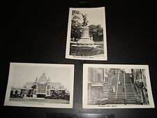 "Vintage B & W Picture Cards QTY  Quebec Canada 3 1/2 x 2 1/2"" Breakneck Steps"